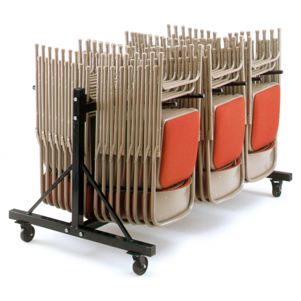 3 Row Low Hanging Storage Trolley