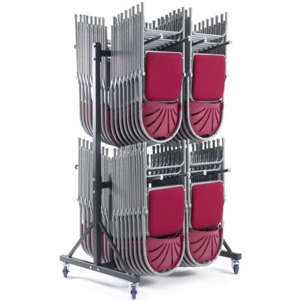 2 Row High Hanging Storage Trolley