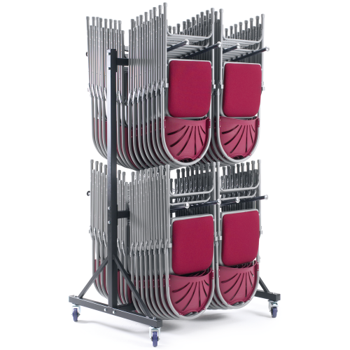 2 Row High Hanging Storage Trolley