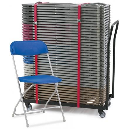 2200 Folding Chair & Transport Dolly Bundle Deal