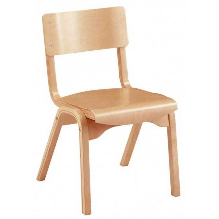 Heritage Beech Stacking Chair