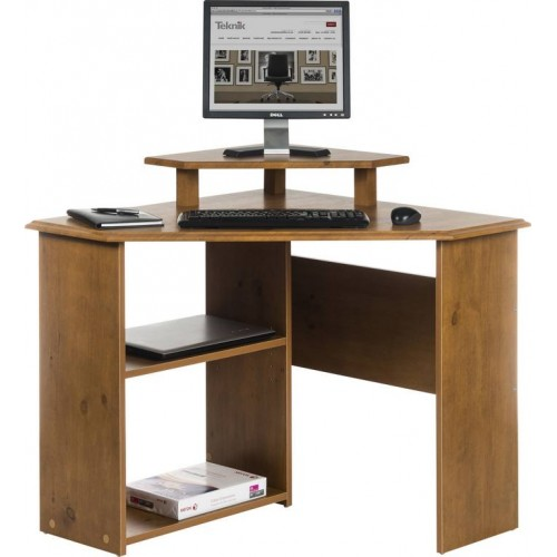 French Gardens Corner Computer Desk