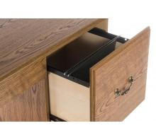 Single Pedestal Computer Desk - Carolina