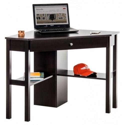 Corner Computer Desk - Cinnamon