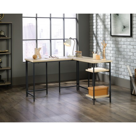 Industrial Style L-Shaped Desk