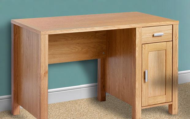 Amazon Single Pedestal Computer Desk