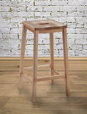 Wooden Lab Stools