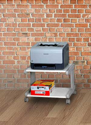 Small Mobile Printer Stand